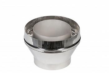 Переход моно-термо для дымохода для бани,D130/260мм - компания ИТС
