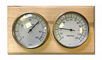 Термогигрометр для бани, в дереве - Будь Здоров - компания ИТС
