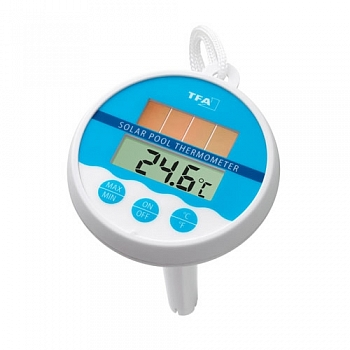 Термометр для бассейна , электронный на солнечных элементах - компания ИТС