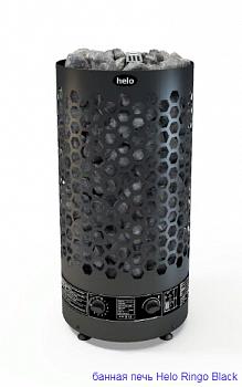 Helo Ringo Black 80 STJ - печь с  с парогенератором для семейной сауны - компания ИТС