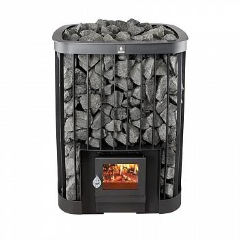 KASTOR Saga 30 (200 кг камней) - банная печь на дровах - компания ИТС