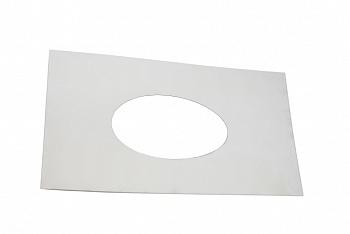Пластина к ППУ D215мм (Лист накладной 480х480 мм, D215мм, толщина 1,5 мм ) - компания ИТС