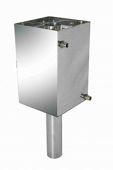 Бак-труба для нагрева воды в бане, D 130 мм,объем 80 л - компания ИТС