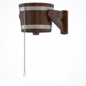 Обливное устройство 20л, полностью деревянное, дуб (мореный) - компания ИТС