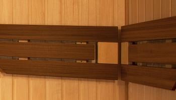 Изготовление из кедра подспинника в баню, ширина 200 мм - компания ИТС