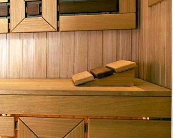 Изготовление из абаша и кедра простого подголовника для парильщика - компания ИТС